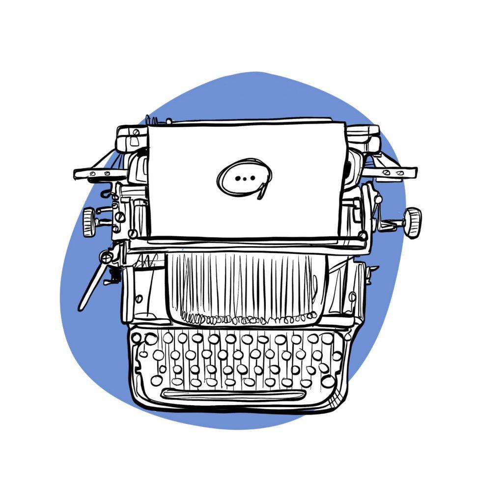 Kmeo machine a ecrire