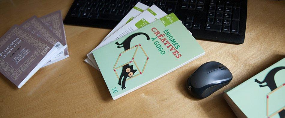 livres enigmes creatives