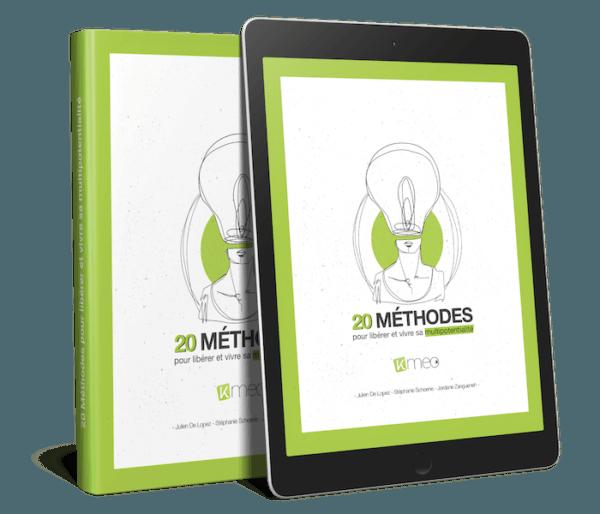 eBook 20 méthodes pour libérer et vivre sa multipotentialité